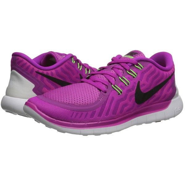 Nike Free 5.0 Women's Running Shoes ($75) ❤ liked on Polyvore featuring shoes, athletic shoes, nike footwear, pointed shoes, lightweight running shoes, nike and grip shoes