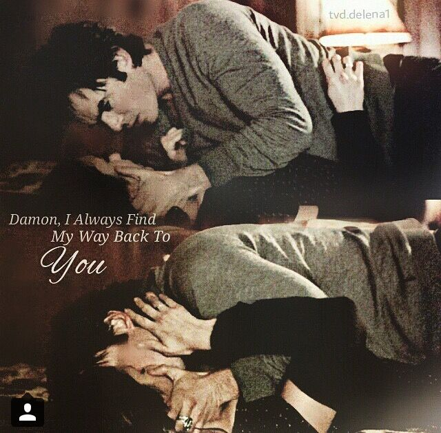 Damon, I always find my way back to you
