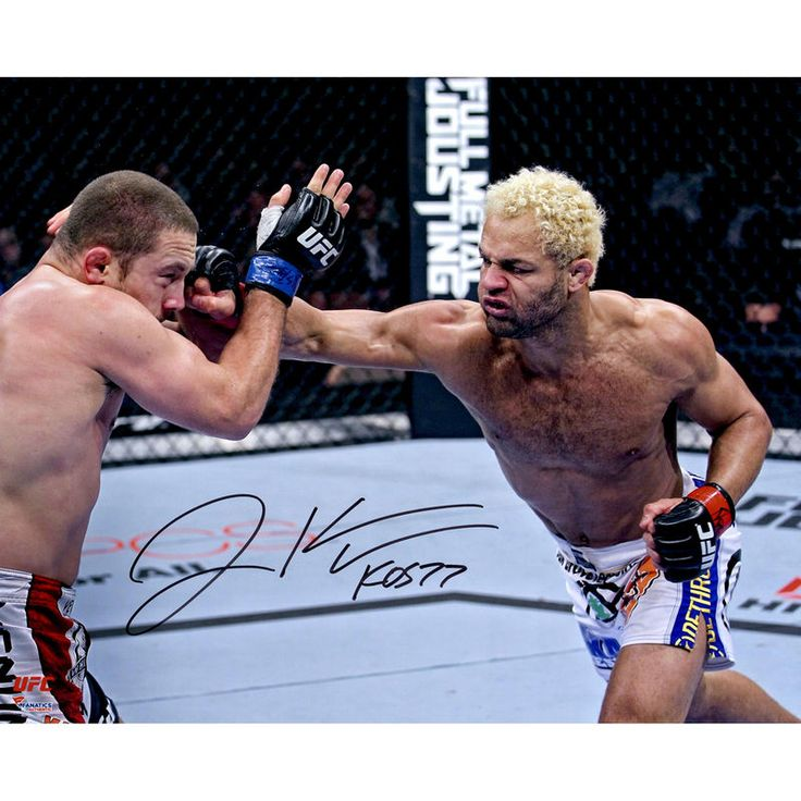 """Josh Koscheck Ultimate Fighting Championship Fanatics Authentic Autographed 16"""" x 20"""" Throwing Punch Photograph"""