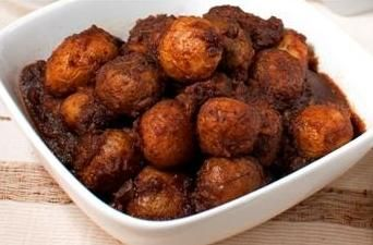 This is Potato Rendang!