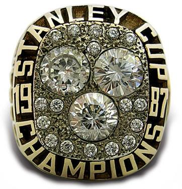 Edmonton Oilers - 1987 Stanley Cup Ring