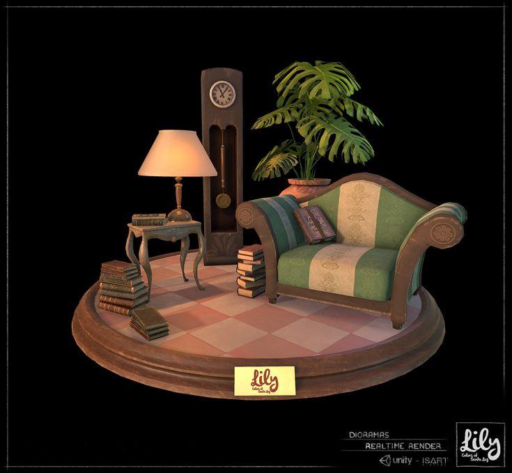 ArtStation - Lily Colors of Santa Luz - 3D Environment, Alex Accorsi