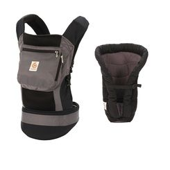 Ergobaby Performance Carrier Bundle - Baby Carrier plus Insert