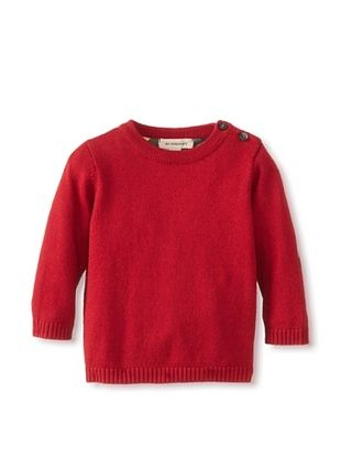 30% OFF Burberry Kid's Sweater Crew Neck (Ruby Red)