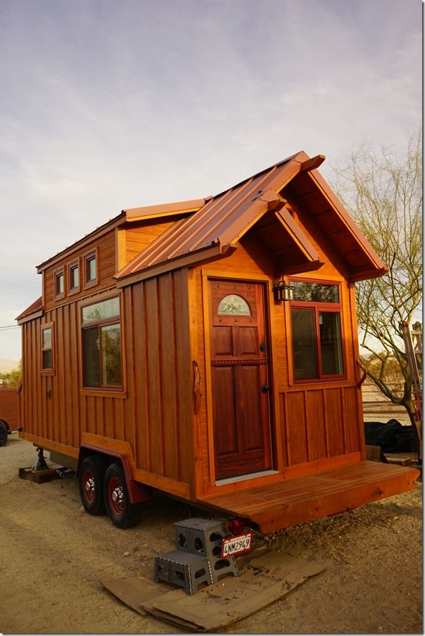 Aarons Craftsman Tiny Home on Wheels using