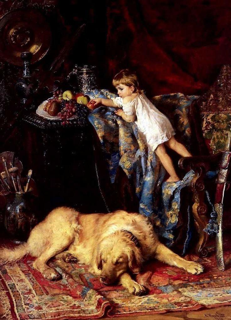 Маковский. Мастерская художника, 1881