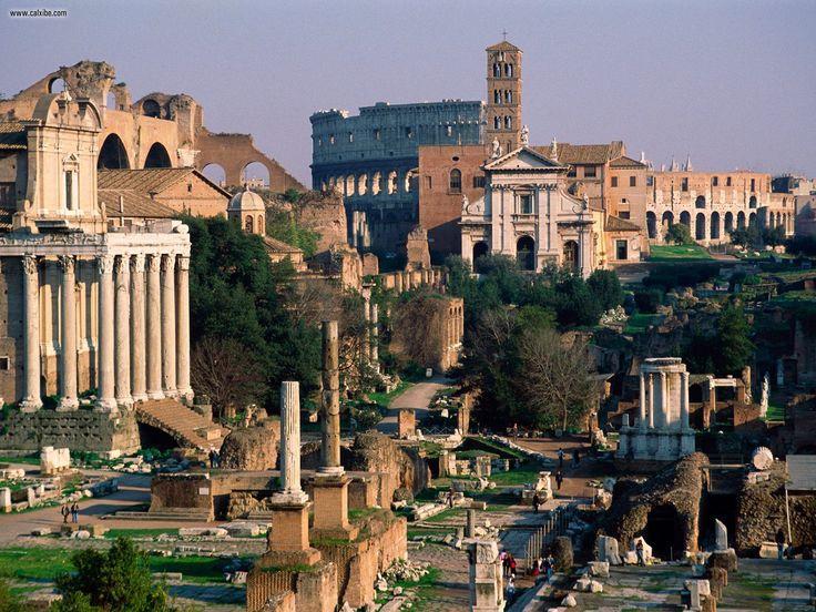 Rome Travel Wallpaper Wide