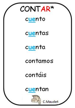 Best 25+ Verbos irregulares castellano ideas on Pinterest