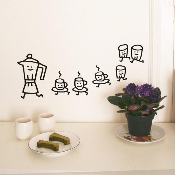 Qué lindo detalle para decorar la cocina!