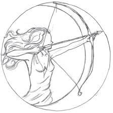 symbol for the goddess artemis