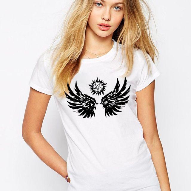 Handmade-T-Shirts-Women-Supernatural-Wings-Woman-T-Shirt-Cotton-O-Neck-Cool-Womens-Tees-Free.jpg_640x640.jpg (640×640)