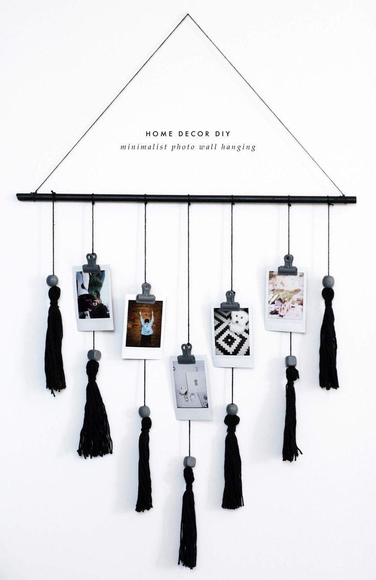 DIY Minimalist Wandbehang