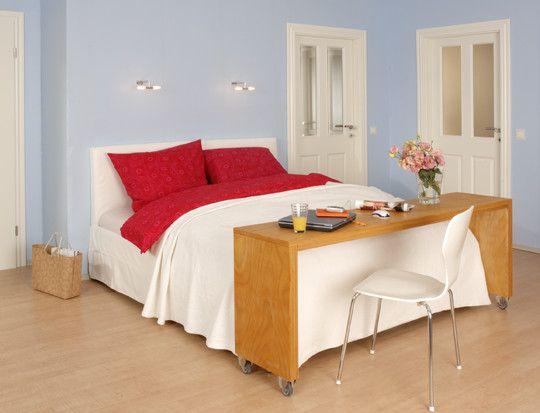 Die Bettbrücke Ist Schnell Gebaut: Multiplexplatten Auf Die Passende Größe  Zuschneiden Lassen, Verleimen Und