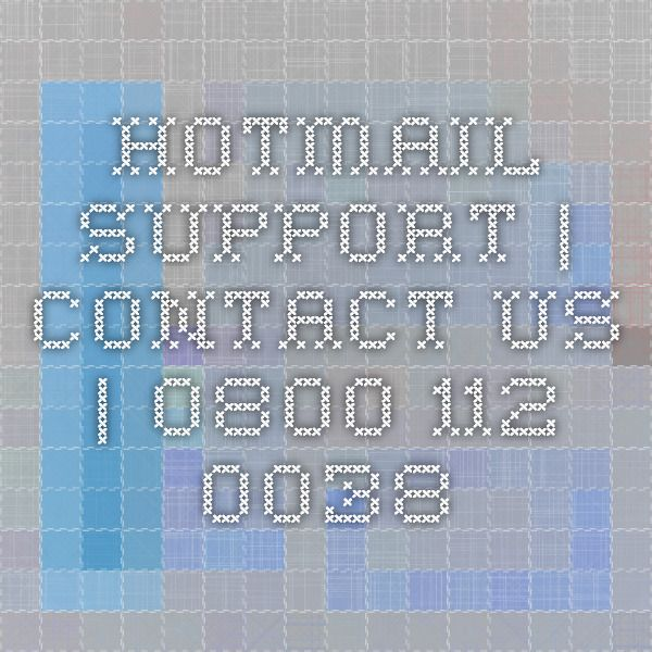 Hotmail Support | Contact Us | 0800 112 0038 #Hotmail #Outlook