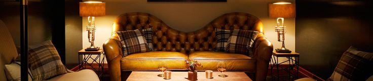 InterContinental Hotels London - Westminster - London, United Kingdom. Lamps.  Tartan planket pillows
