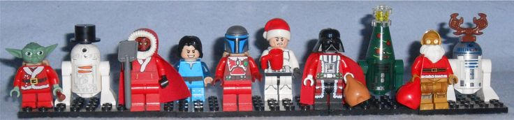 Special Lego Star Wars Mini-Figs collected through the years from various Advent Calendars