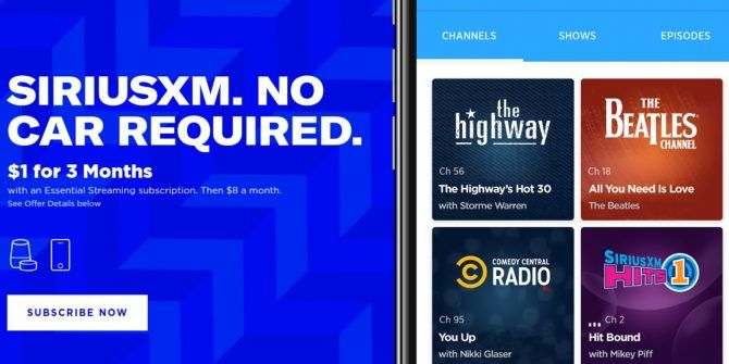 SiriusXM Essential Means You No Longer Need a Car Music