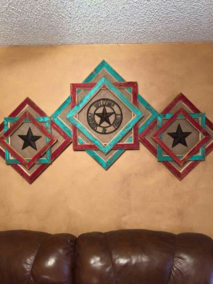 Great Living Room Idea More Texas Star DecorWestern CraftsGeneral