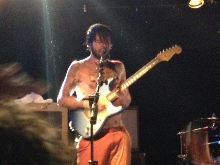 Simon Neil. Lead songer of Scottish band Biffy Clyro