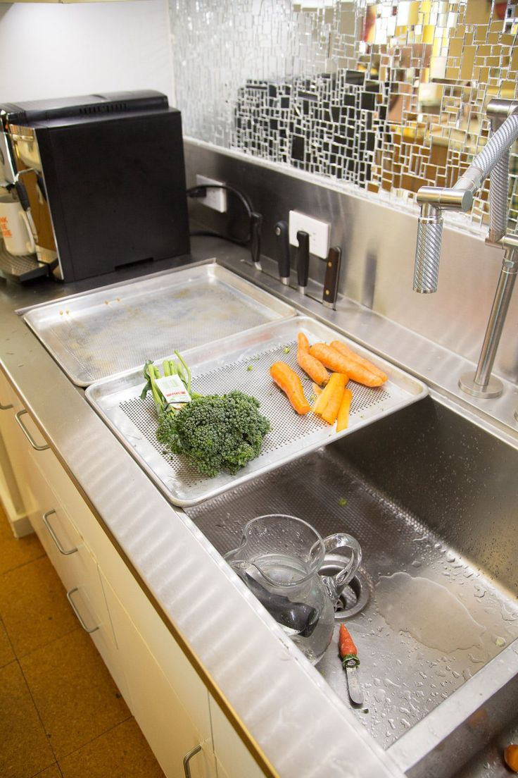 This Ingenious Sink Was Inspired by Restaurant Kitchens — Kitchen Tour