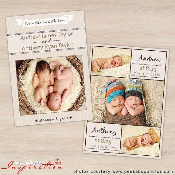 36 best Newborn Birth Announcements images – Birth Announcements Etsy