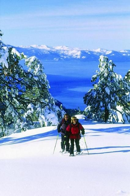 Snowshoe through the Truckee and Lake Tahoe area using devoted trails. If you can walk, you can snowshoe. It's a great way to enjoy the outdoors during the winter months.