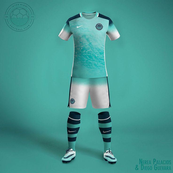 Nike MLS Concept Kits by Nerea Palacios | Inter Miami