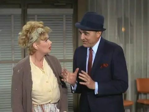 """1967 THE LUCY SHOW - """"Lucy Meets Sheldon Leonard"""" - Lucille Ball, Gale Gordon - YouTube"""