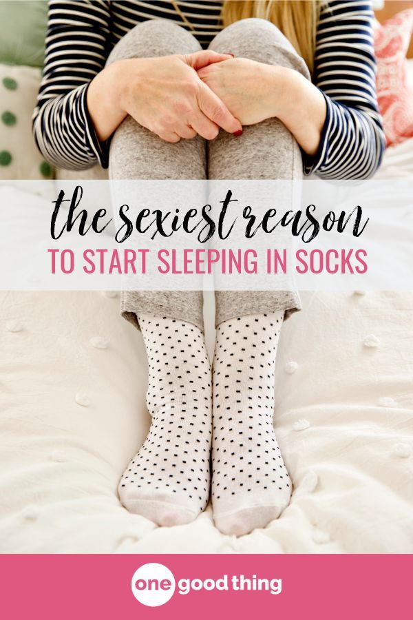 e6554d308e To sleep with socks on, or not to sleep with socks on? That is the  question, and I have the surprising answer for you right here!  #sleepingtips #socks