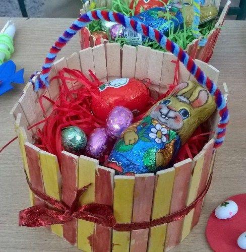 Easter Basket - Πασχαλινό Καλαθάκι