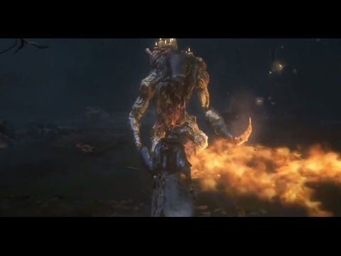 Bloodborne   Undead Giant   Boss Fight   25 Second