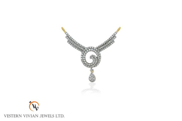 New delicate &  elegant mangalsutra for traditional & western wear... looking Beautiful .