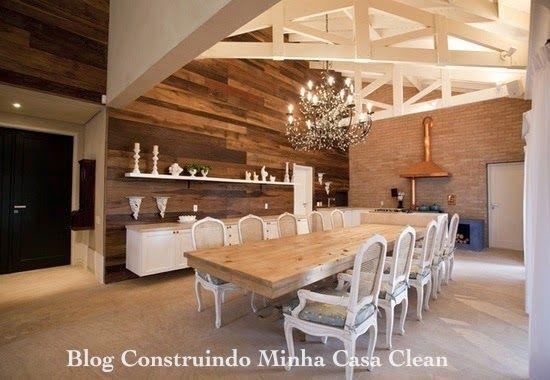 30 casas de campo decoradas veja dicas do r stico moderno for Casa rustica classica