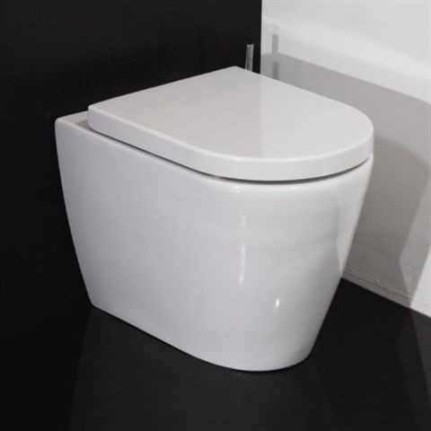 Back to wall toilet with soft close seat quick release hugo oliver - 35 Best Images About Wcs On Pinterest Toilets Back To