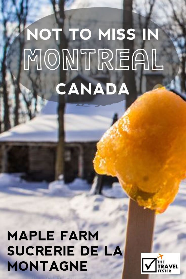 Do you ever feel modern life is too rushed, too focused on technology and too disconnected? Then visit Maple Farm Sucrerie de la Montagne in Montreal, Canada That will Leave you Inspired | The Travel Tester::