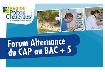 Forum Alternance de la Région. Le jeudi 15 mai 2014 à Niort.