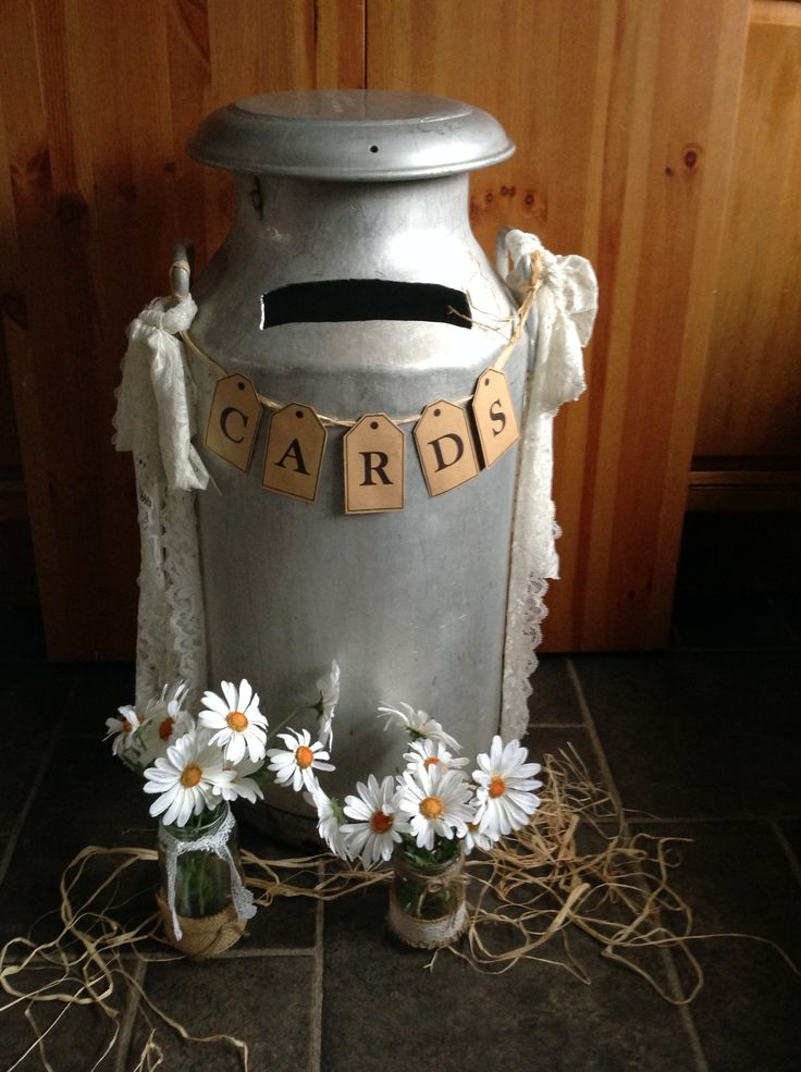 Old rustic milk churn available to hire from makeitspecialevents.co.uk