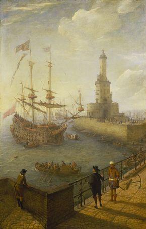 Abraham_Willaerts_-_A_Spanish_Three-Decker_at_Anchor_off_Naples.jpg (813×1280)