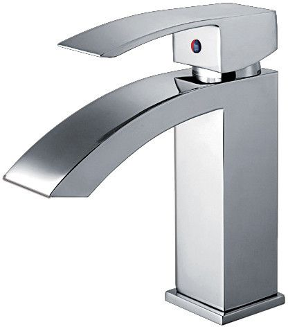 Jem Collection single hole/single lever lavatory faucet with pop-up waste