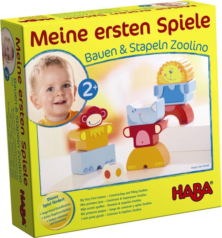 HABA Spiele - nach Alter sortiert. Erste Spiele ab 2 Jahren