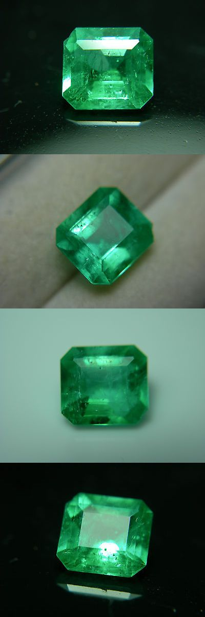 Natural Emeralds 3825: Rare Colombian Emerald Gem Good Color Clarity Natural Muso Colombia Green Muzo BUY IT NOW ONLY: $825.0