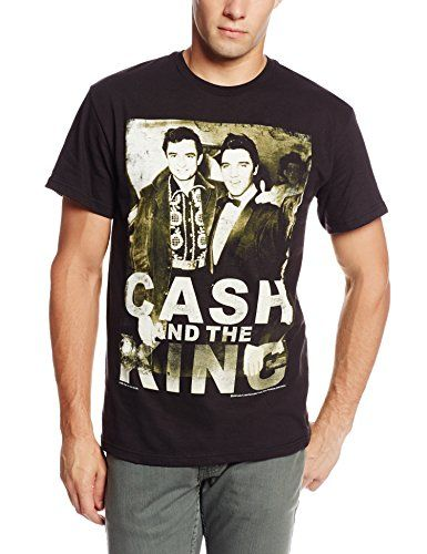 Bravado Men's Johnny Cash Cash and The King T-Shirt