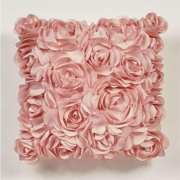 Blush Rose Flower Petal Decorative Pillow Pink Pillows Decorative Blush Pink Decor Blush Decor