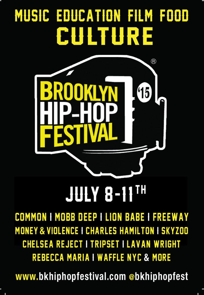 The 11th Annual Brooklyn Hip-Hop Festival is Days Away Here's the Details