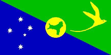 [flag of Christmas Island]