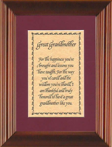 Great-Grandmother Sayings | Great Grandmother For The Happiness