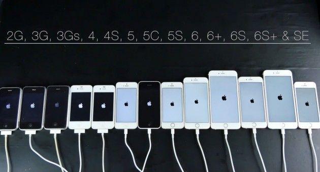 Da iPhone 2G ad iPhone SE: un video compara le prestazioni