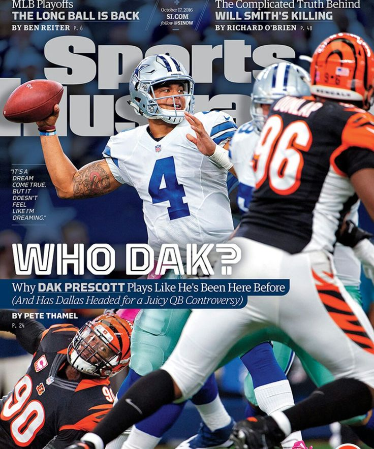 Dak Prescott Sports Illustrated cover