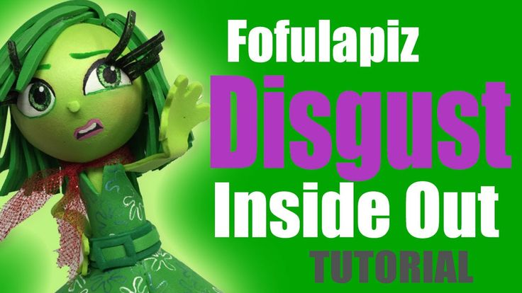 Fofucha Fofulapiz Desagrado Intensamente - Disgust fofupencil Inside out