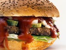 zelfgemaakte hamburger http://www.budgetkoken.be/belegde-broodjes/hamburger.php